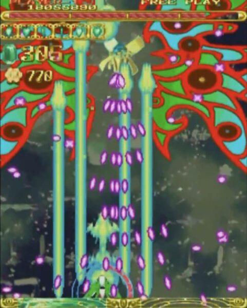 「エスプガルーダ」ステージ5-2-2ボス