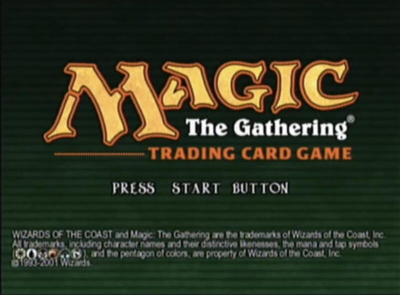 「マジック:ザ・ギャザリング(DC版)」タイトル